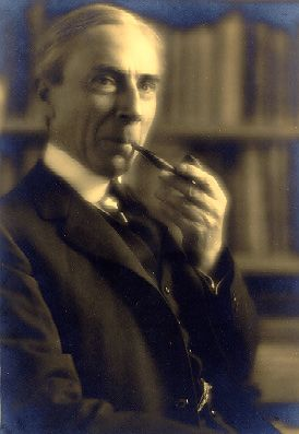 When I was about 14 I became entranced with reading Bertrand Russell. I had his photo on my (cork) bulletin board then, so it seems appropriate to pin him here now.