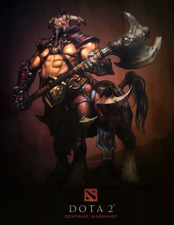 #centaur #dota2arts #dota 2  -Awesome, Trones waifu :P -The Saint