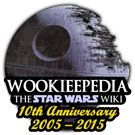 Wookiepedia is an example of a wiki site. Fan of Star Wars are welcome to edit and add to the site.