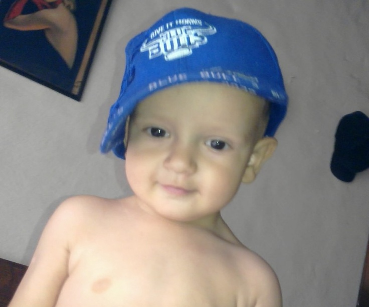 Adorable entry of a little Blue Bulls fan from Eugene de Lange - http://on.fb.me/XkyP22