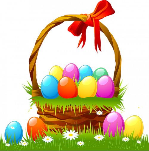 free easter basket clipart - photo #15