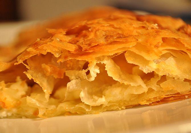 Στριφτόπιτα η πίτα της Σαρακατσάνας