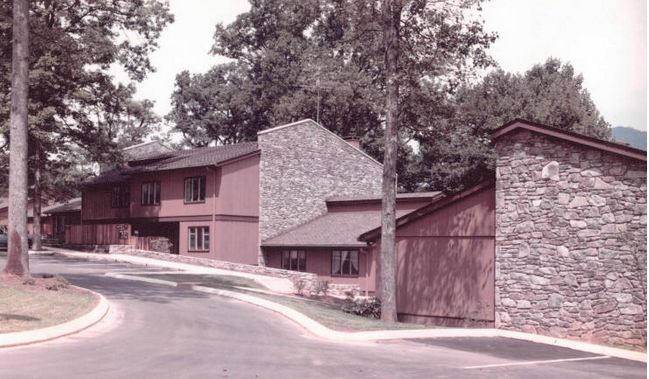 The Crowfield Condos were constructed approximately in 1972. #mid-century #modern #larry #traber #asheville