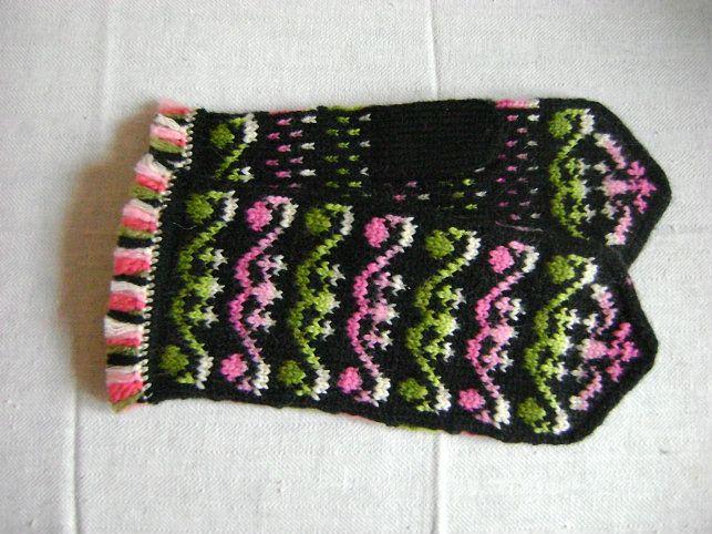 "Mittens ""Pink & Green"""