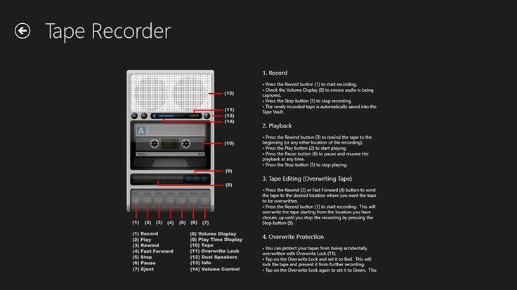 Tape Recorder snímek obrazovky 1