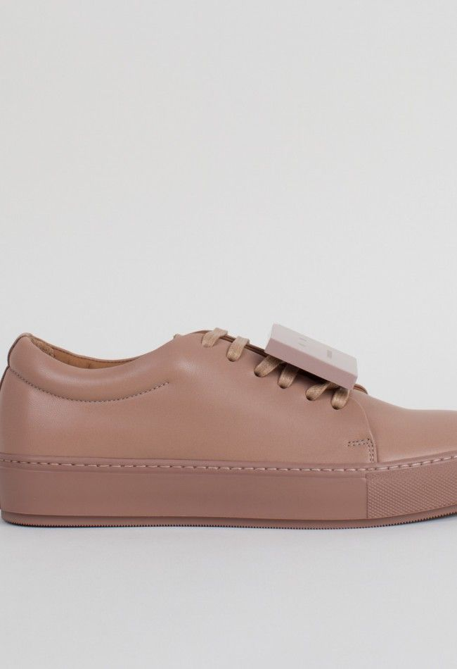 Acne Studios Adriana Turnup Shoes Dusty Pink – Voo Store