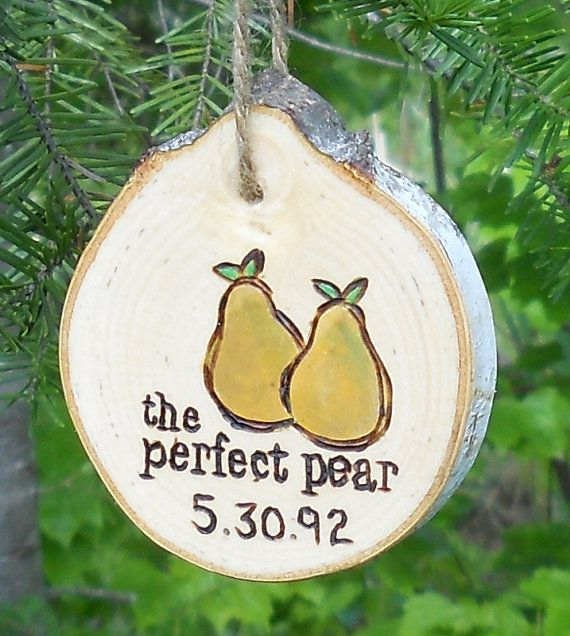 Rustic Birch Branch Ornament Personalized by vermontbranchcompany, $18.00