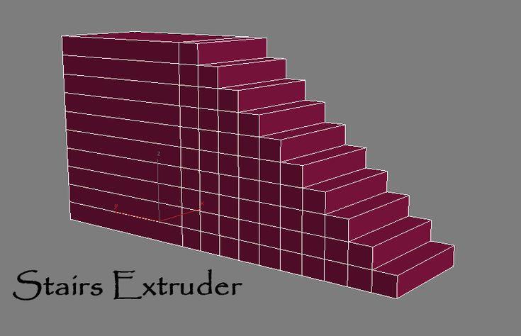 Stairs Extruder | ScriptSpot