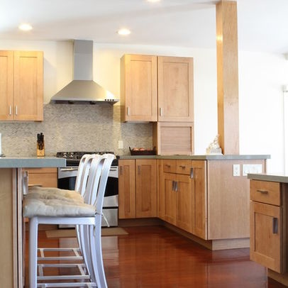 Maple cabinets design ideas pictures remodel and decor for Brazilian cherry kitchen cabinets
