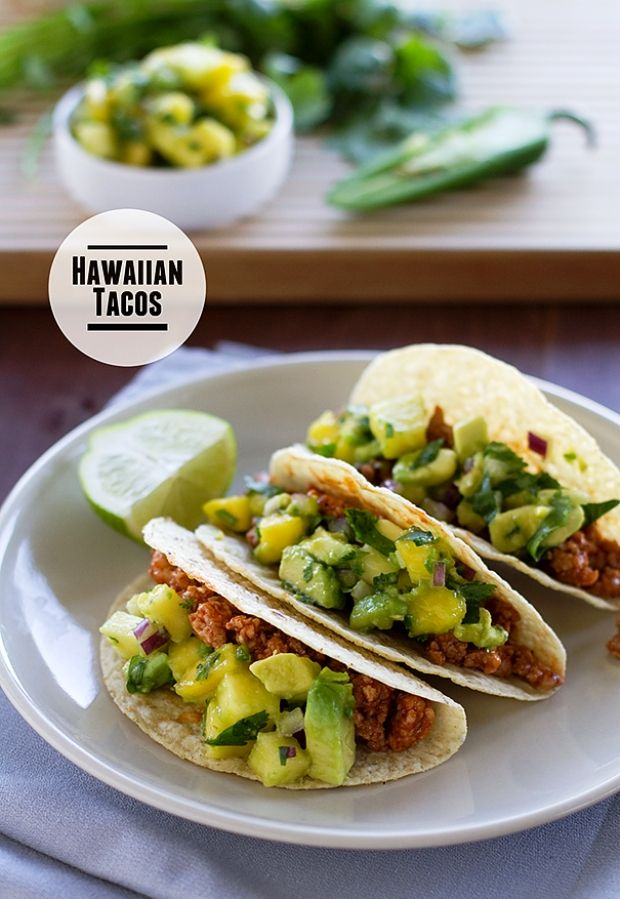 Aloha! Why not try some Hawaiian Recipes? Hawaiian Tacos Recipe