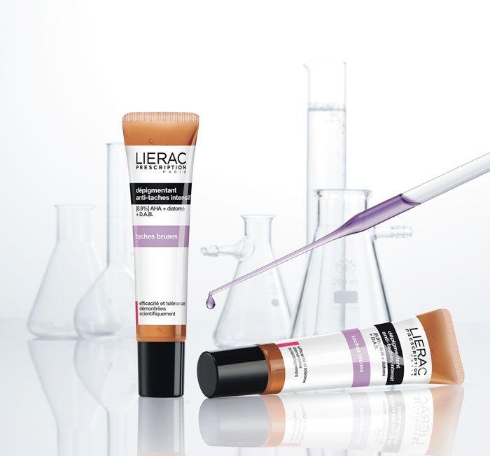 Lierac Prescription Depigmentant, διάφανο κεχριμπαρένιο ζελ! Εντατική Φροντίδα κατά των κηλίδων Σβήνει τις δυσχρωμίες, προλαμβάνει την επανεμφάνισή τους, προσδίδει ομοιόμορφη υφή στην επιδερμίδα.