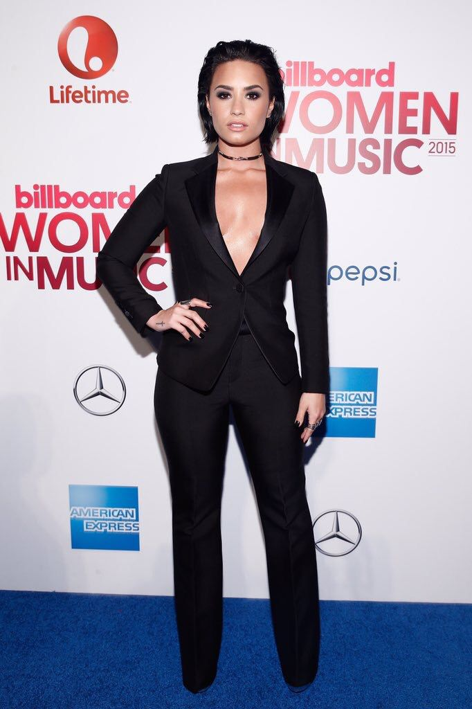 Demi Lovato at Billboard's #WomenInMusic in New York - December 11th