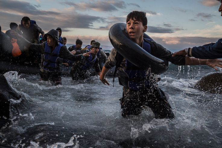 The New York Times and Thomson Reuters shared the Pulitzer Prize for breaking news photography for coverage of Europe's refugee crisis.