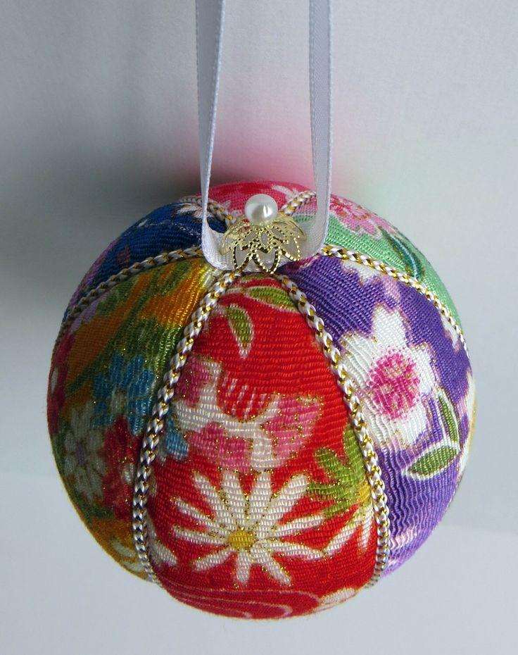 61 best Kimekomi Ornament Balls images on Pinterest | Christmas ...