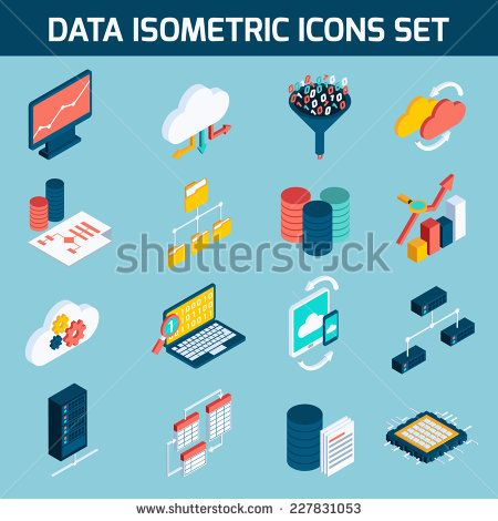 stock-vector-data-analysis-digital-analytics-data-processing-icons-isometric-set-isolated-vector-illustration-227831053.jpg (450×470)