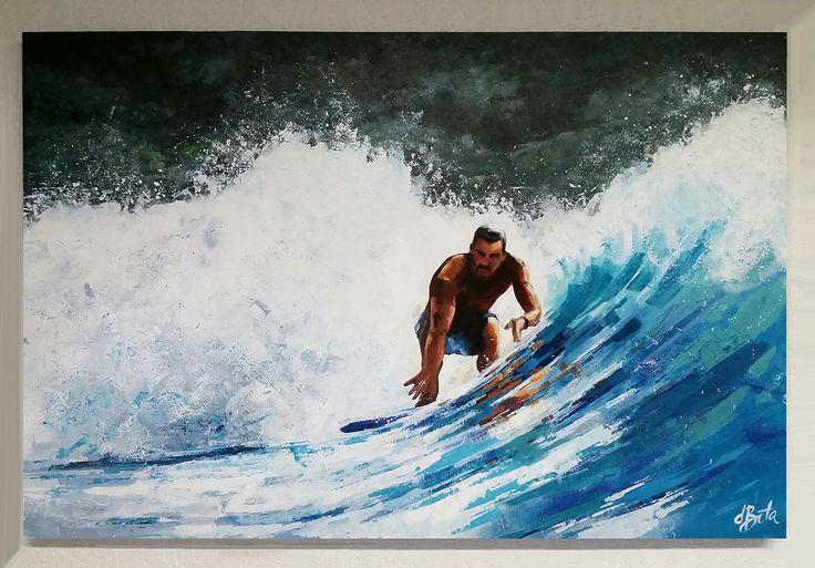 Marcus - Acrylic on Canvas 100x150
