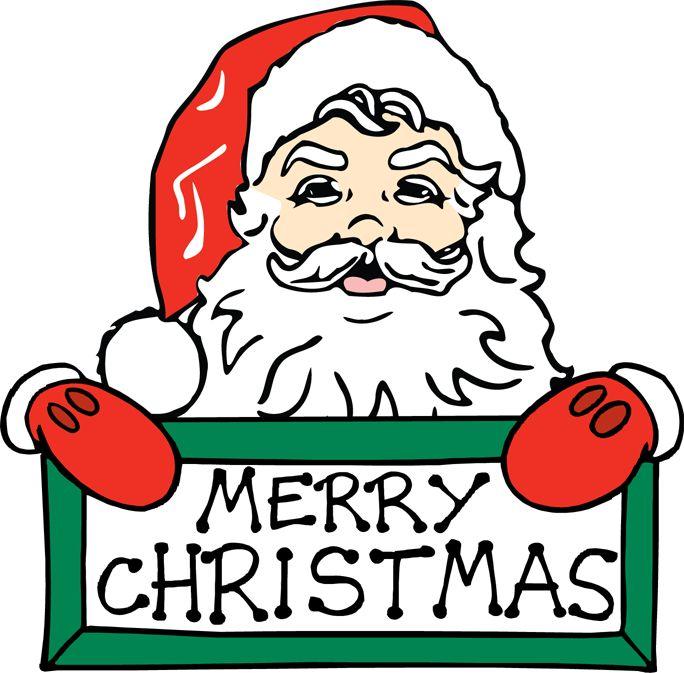 christmas eve santa claus clip art