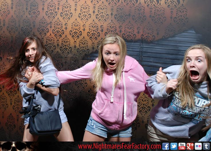 Scariest part of haunted house pictures