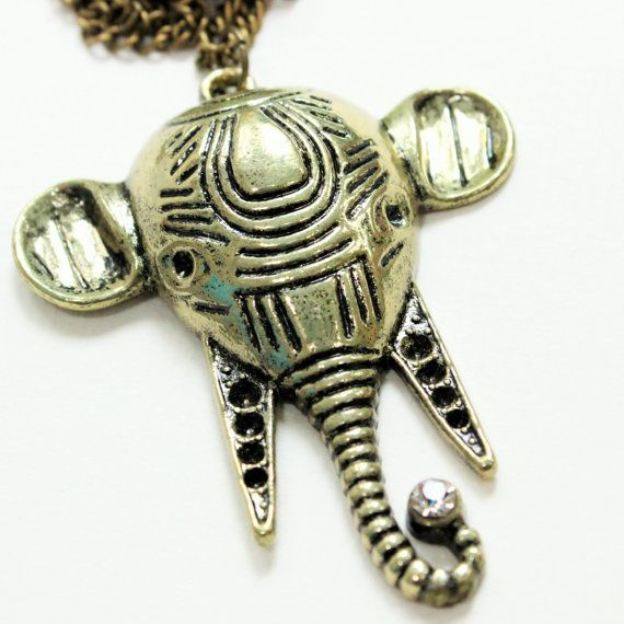 A cute elephant necklace for those looking for elephant gifts, specifically elephant jewellery. Maybe as a good luck charm or for someone who loves
