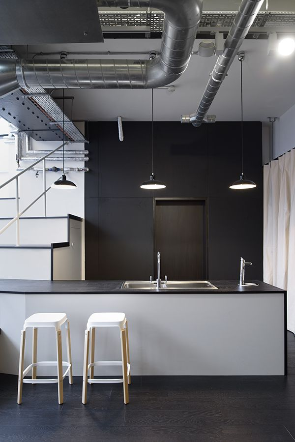 Office Kitchen Bar Area Inspiration From Barley Mow Club Workspace Designed By TILT