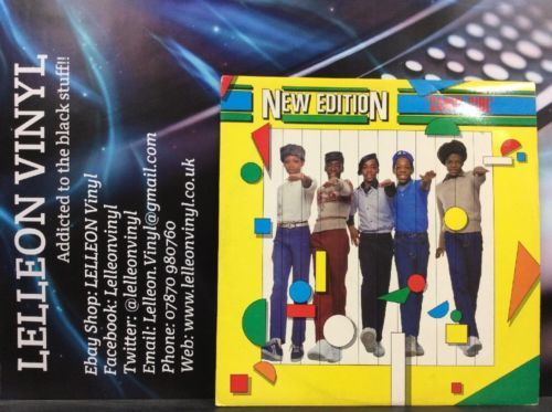 "New Edition Candy Girl 12"" Single Vinyl LONX21 A1/B1 R&B Pop 80's Music:Records:12'' Singles:R&B/ Soul:R&B"