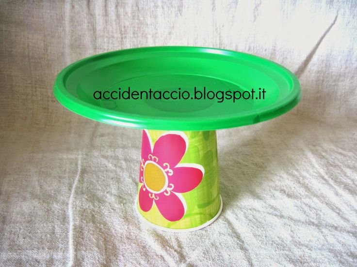 Accidentaccio: Cake stand fai da te