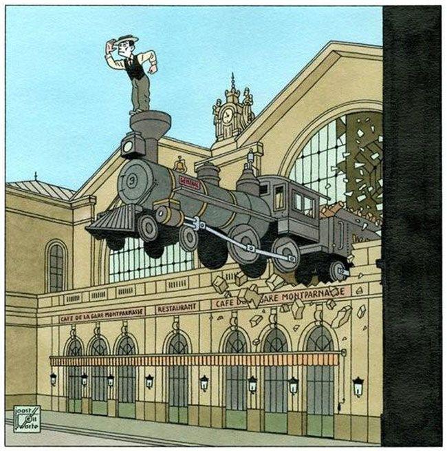 Joost Swarte-Buster Keaton