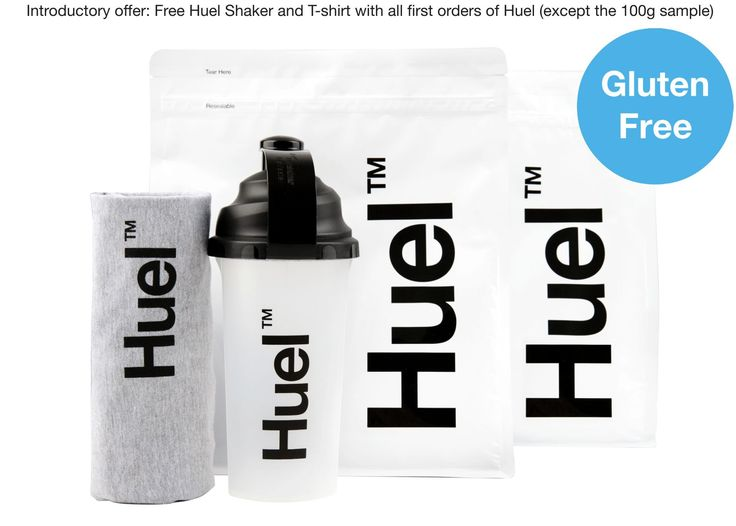 Huel (Gluten Free) the UK's leading nutritionally complete food v2.1
