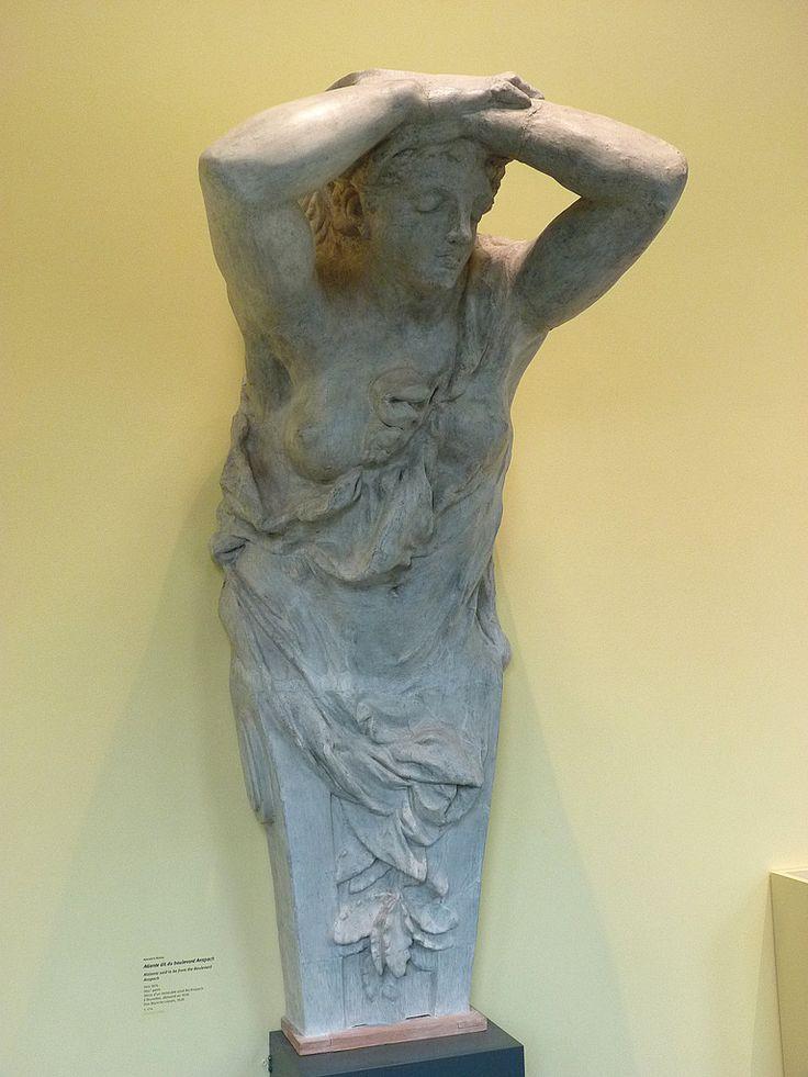 "RODIN Auguste,1874 - Atlante du Boulevard Anspach, Stuc (Musée Rodin) - 0b  -  TAGS / art sculptor sculpteur details détail détails detalles sculpture sculptures ""sculpture 19e"" ""19th-century sculptures"" ""Rodin Museum"" statue tête head face faces visage France ""French sculpture"" ""French sculptors"" ""naked woman"" ""naked women"" ""femme nue"" ""nu feminin"" ""nude female"" bare naked nue sensuelle sensual erotism érotisme ParisAtalante ""jeune femme"" ""young woman"" ""young women"" Cariatide caryatid"