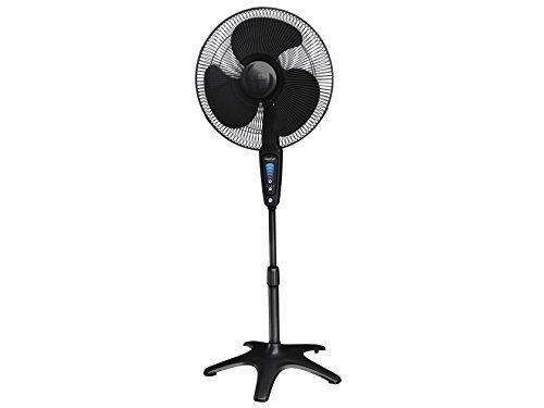 "Honeywell HS-1655 QuietSet 16"" Stand Fan - Black"
