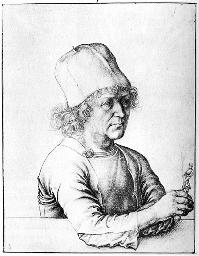 Albrech Durer the Elder - Albrecht Durer-Albertina-Vienna