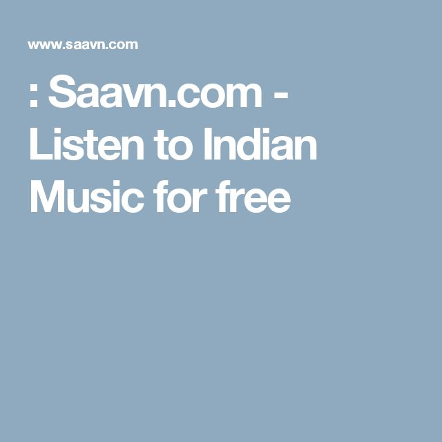 : Saavn.com - Listen to Indian Music for free
