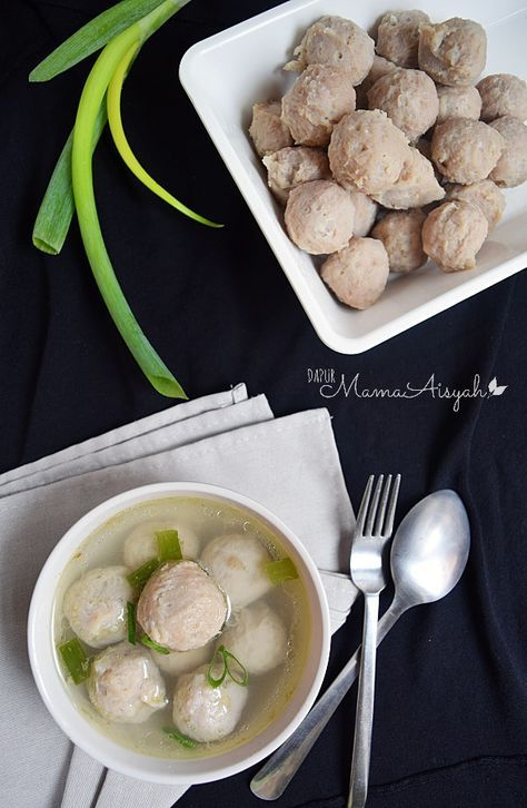 Dapur Mama Aisyah: Homemade Bakso Sapi-Ayam
