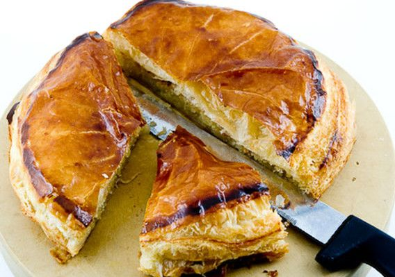 French King Cake Recipe - Galette des Rois recipe. Unbelievably easy and delicious.