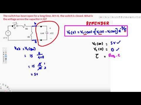 Example 2 : Transient Analysis : RC circuit 1st order