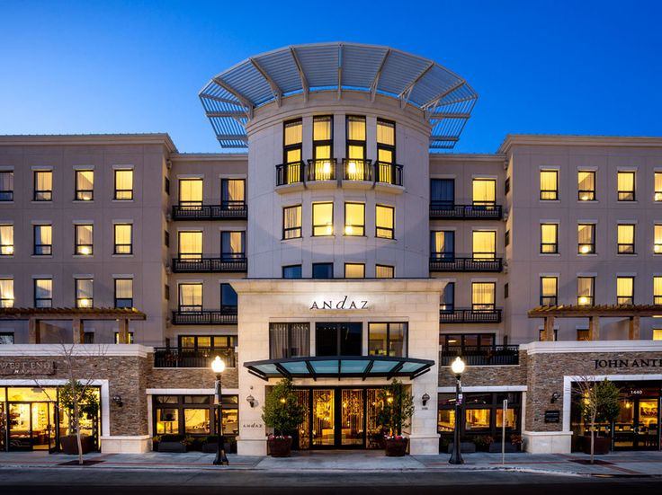 Andaz Napa in downtown Napa is #15 on @cntraveler Top 30 Hotels in Northern California: Readers' Choice Awards 2015