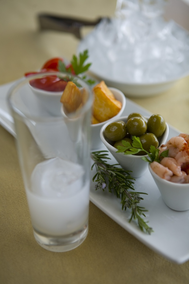 What about some ouzo and greek traditional delicacies     www.aquisresorts.com    #greece #crete #aquishotels