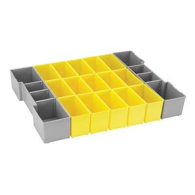 Bosch ORG1A-YELLOW 17-Piece Yellow Organizer Insert Set for L-BOXX System