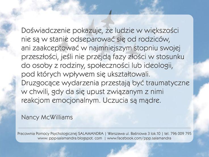 Nancy McWilliams o korzyściach z separacji - cytat
