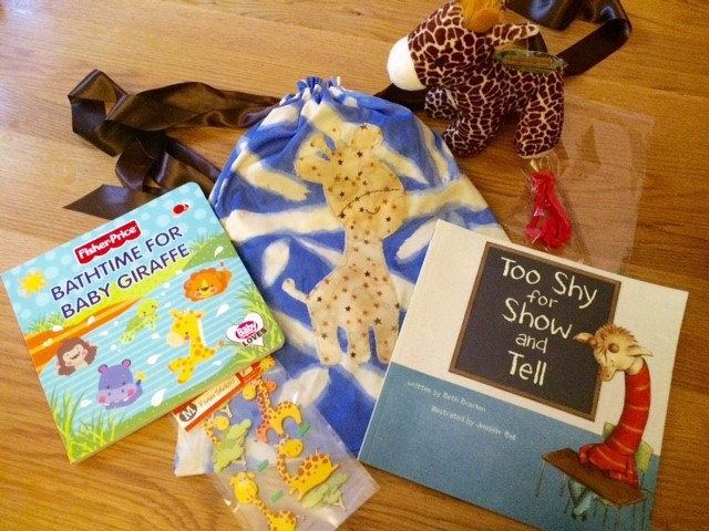 Giraffe Story Sack Bundle by LollyAndCo on Etsy