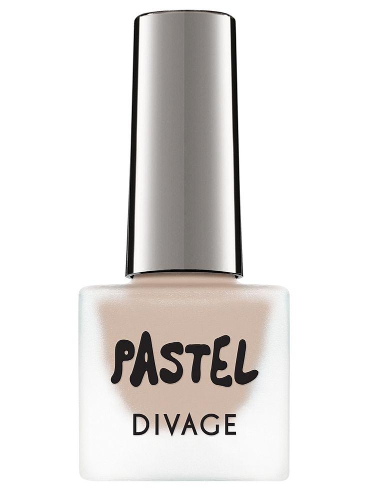 Divage Матовый лак для ногтей pastel, тон  03