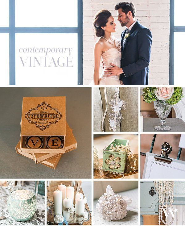 An elaborate layering of vintage elements and tactile fabrics combine with modern day influences to create a fresh take on the always beautiful and romantic vintage wedding style.