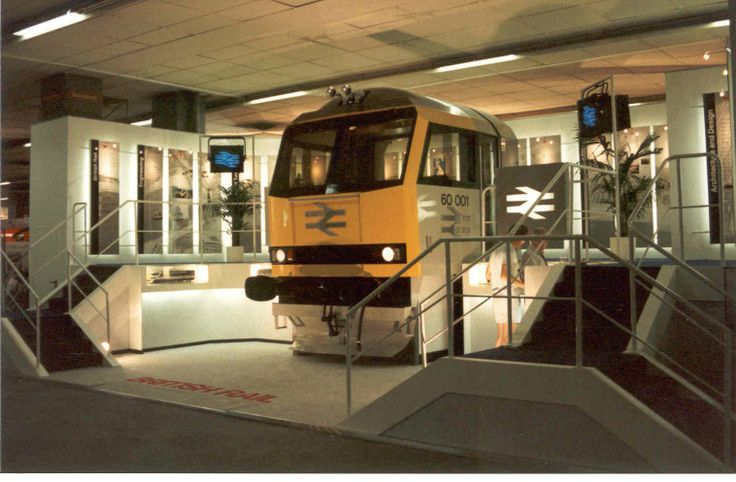 class 60 mock-up at the NS150 celebrations held in 1989 in Utrecht, NL