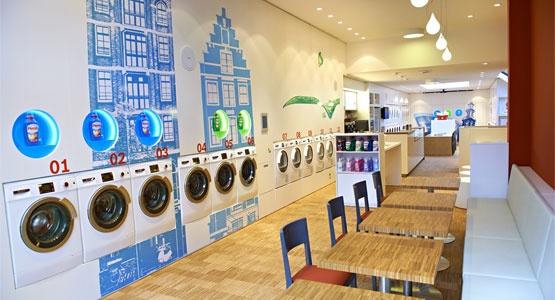 Wash & Coffee - Leuke (workshop)locatie in Amsterdam, cool concept met een knipoog