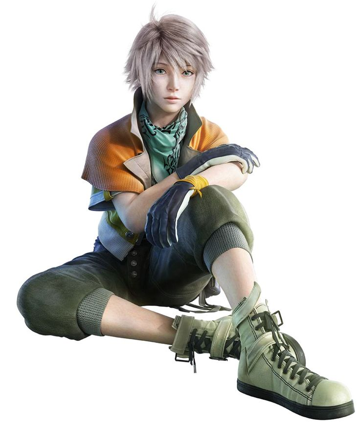 Always wanted to cosplay as Hope; I like his older-version outfit better, but I can't pull off the young-adult-guy look.