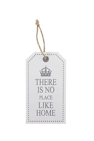 """Hang this pretty plaque on the front door or display it in your living room.<div class=""""pdpDescContent""""><BR /><b class=""""pdpDesc"""">Dimensions:</b><BR />L13xW2xH23.5 cm</div>"""