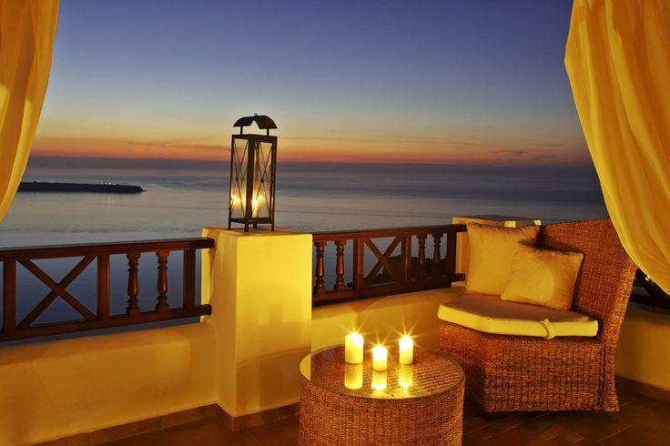 Sunset Suite terrace.. #romance #Santorini