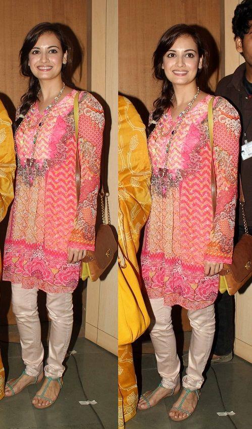 Fashion: Dia Mirza Images 2013