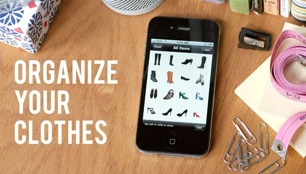 Stylebook App to get all of your clothes organized
