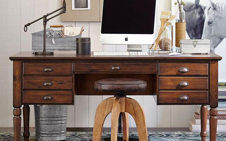 Leather Office Chair Pottery Barn: 17 Best Ideas About Pottery Barn Office On Pinterest